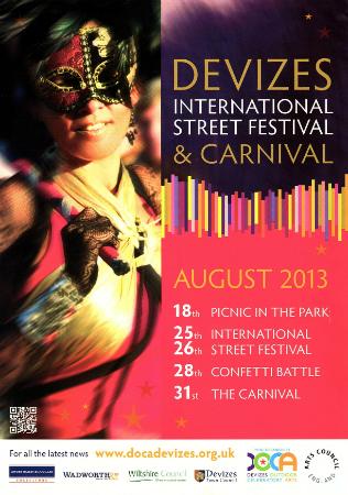 2013 Street Festival poster