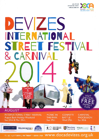 2014 Street Festival poster