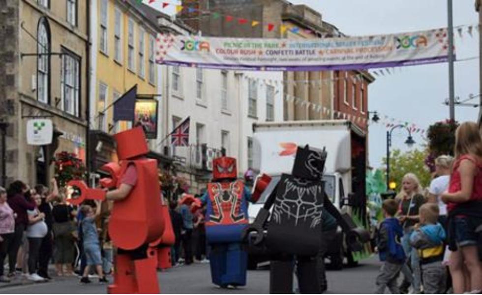Enter the Carnival Parade