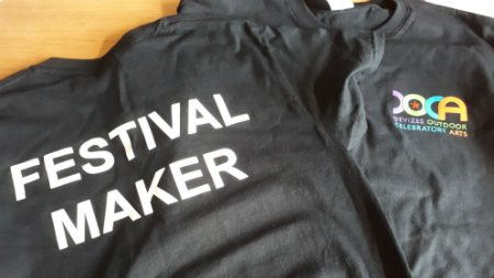 Festival Maker T-shirts