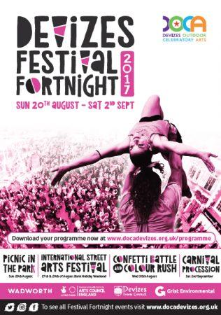 2017 Street Festival programme