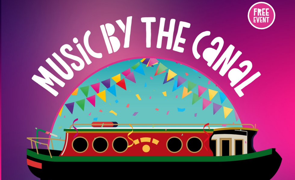 Music by the canal poster