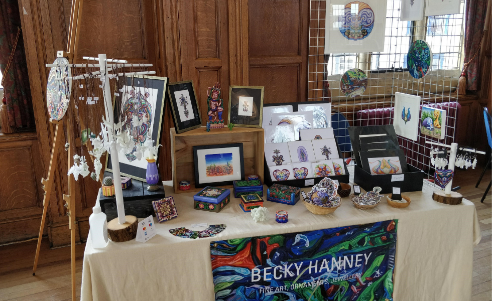 Becky Hanney: Fine Art, Ornaments, Jewellery