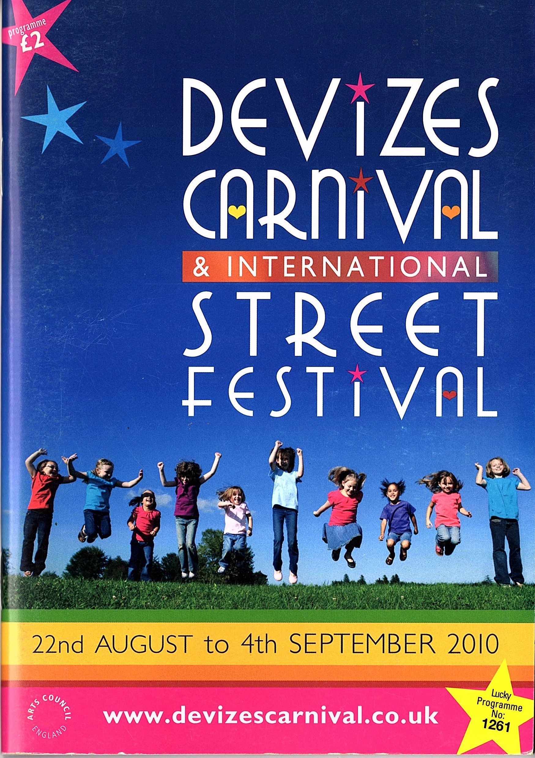 2010 Programme cover